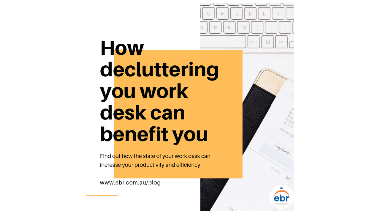 How decluttering your work desk can benefit you